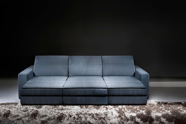 Sof 6 lugares retr til e reclin vel concept 4010 for Sofa retratil 6 lugares