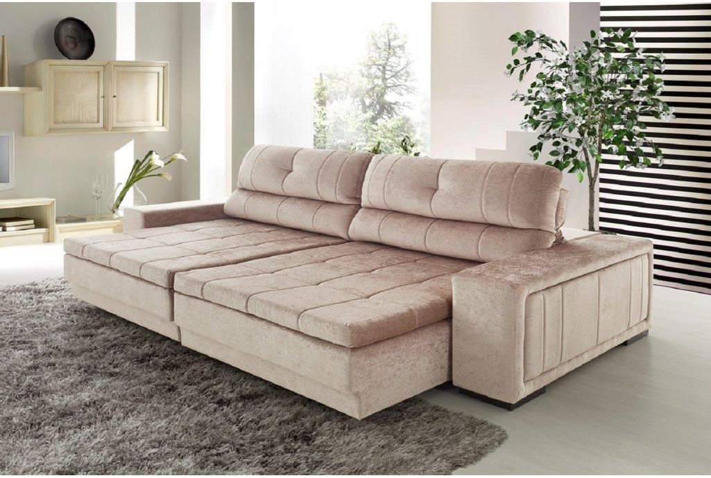 Sof 3 lugares retr til e reclin vel impecable casadecasa - Ver sofa cama ...