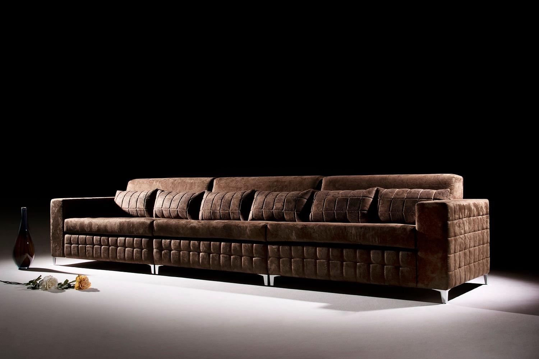 Sof 6 lugares concept 4019 casadecasa for Sofa retratil 6 lugares