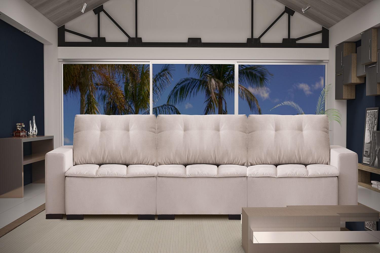 Sof 6 lugares retr til e reclin vel concept 4035 for Sofa retratil 6 lugares