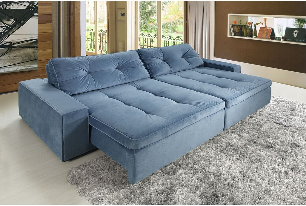 Sofa e sofa for Sofa 03 lugares retratil e reclinavel
