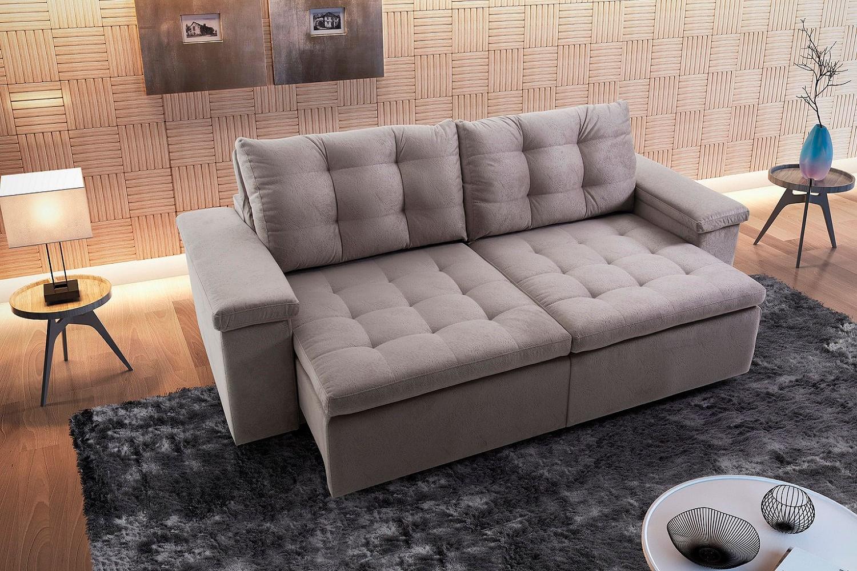 sof 3 lugares retr til e reclin vel apreccie casadecasa. Black Bedroom Furniture Sets. Home Design Ideas