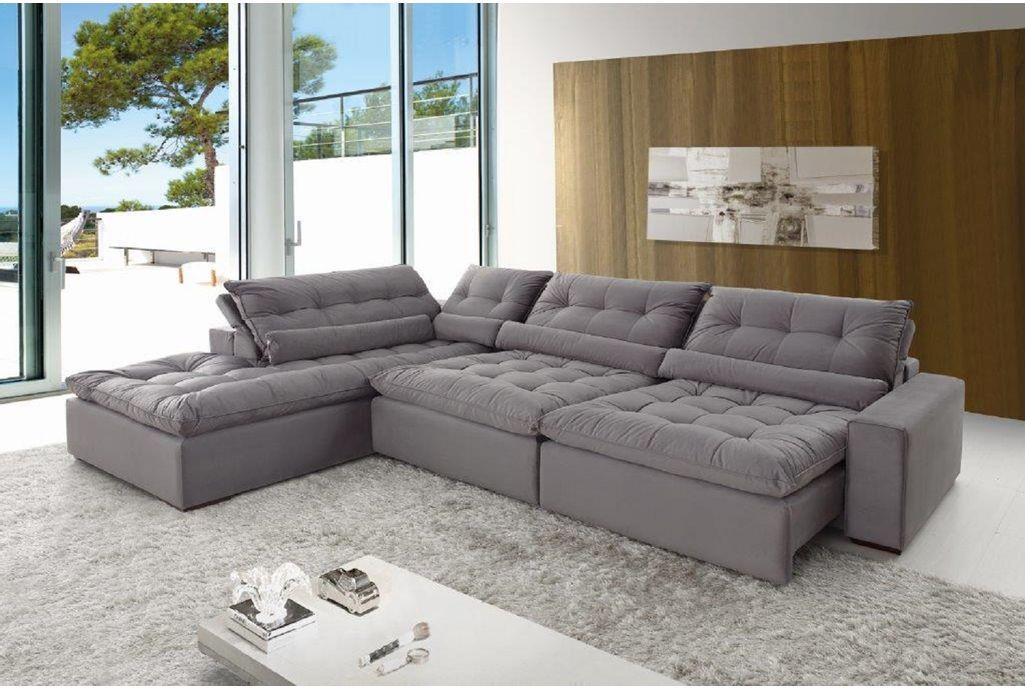 Conjunto de sofá retrátil Confortable