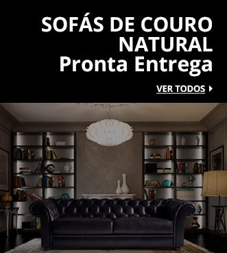 sofas de couro natural