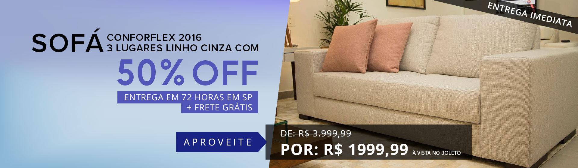 Promocao sofa - Ago/18