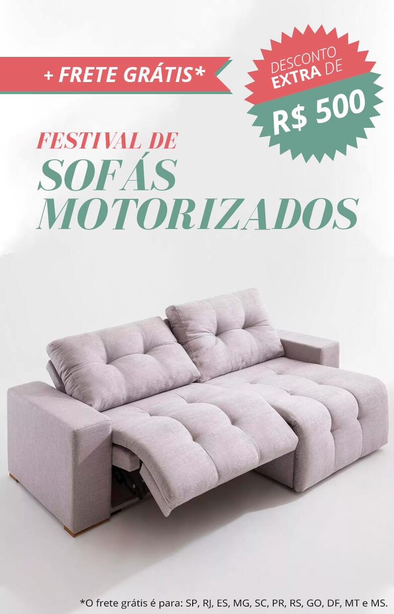sofá motorizado - out/18